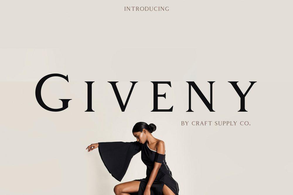 Sixty Eight Ave - 100 Stylish Fonts - Giveny