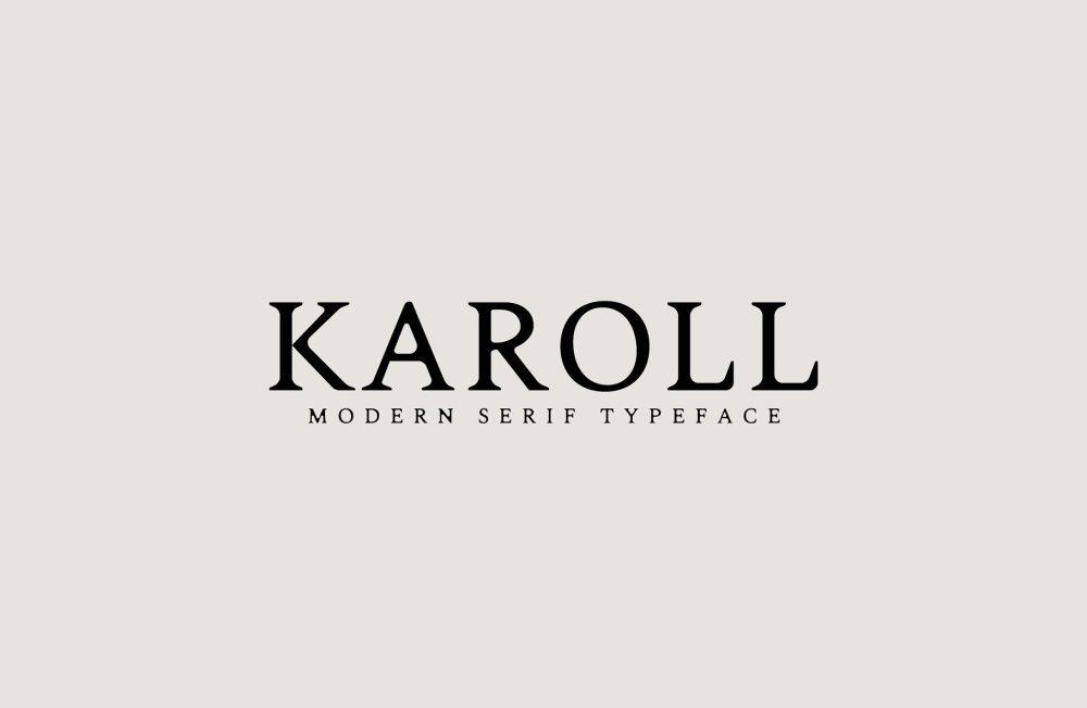 Sixty Eight Ave - 100 Stylish Fonts - Karoll