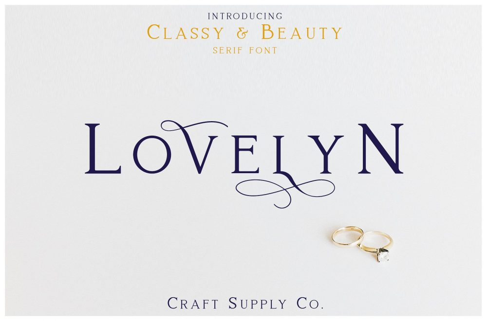 Sixty Eight Ave - 100 Stylish Fonts - Lovelyn