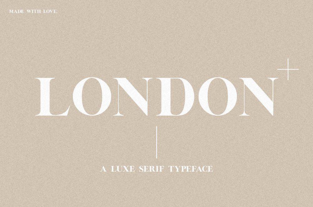 Sixty Eight Ave - 100 Stylish Fonts - London