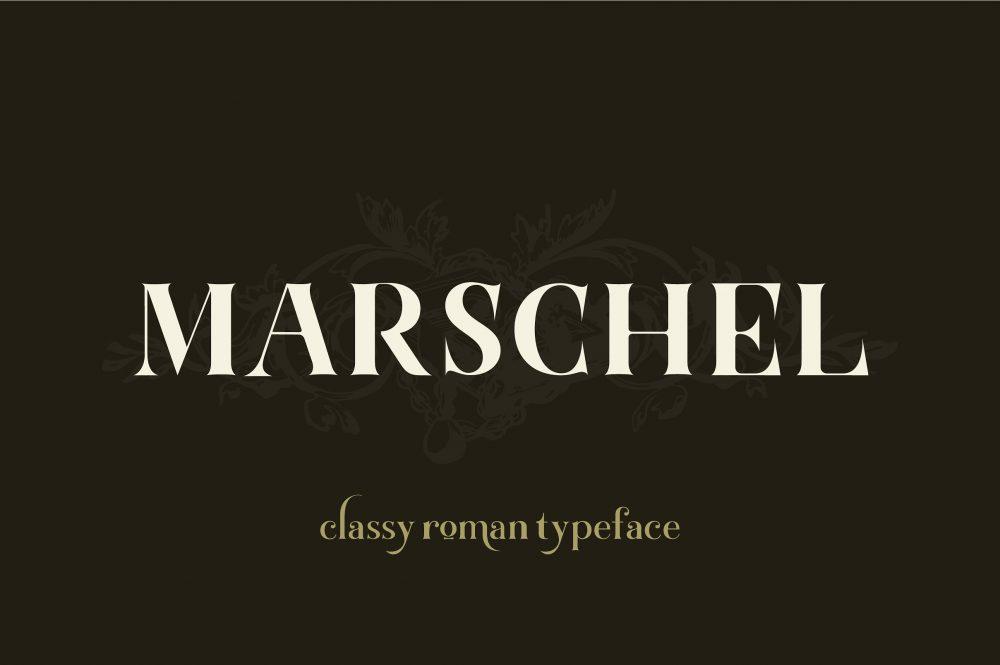 Sixty Eight Ave - 100 Stylish Fonts - Marschel