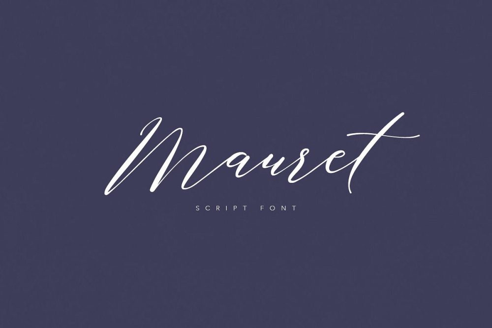 Sixty Eight Ave - 100 Stylish Fonts - Mauret