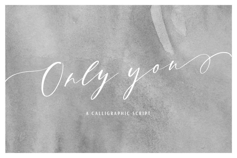 Sixty Eight Ave - 100 Stylish Fonts - Only You