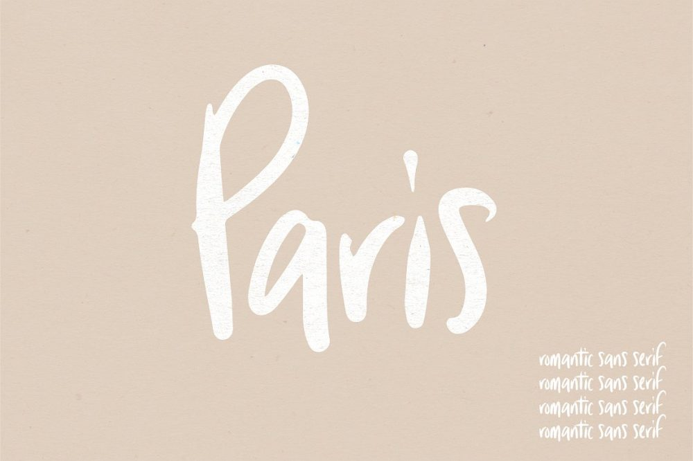 Sixty Eight Ave - 100 Stylish Fonts - Paris