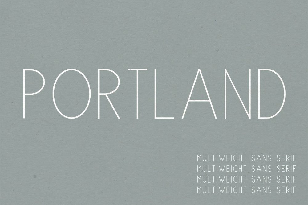 Sixty Eight Ave - 100 Stylish Fonts - Portland