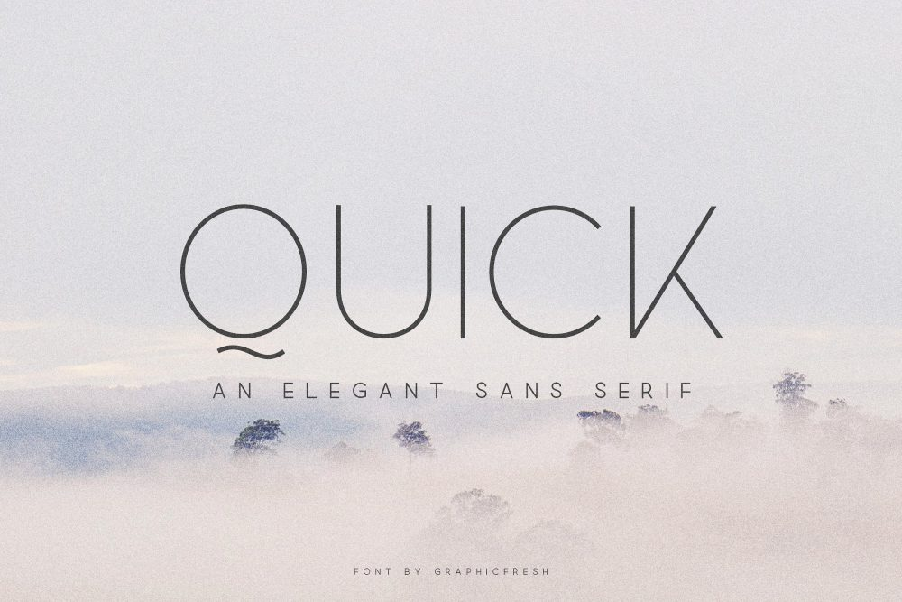 Sixty Eight Ave - 100 Stylish Fonts - Quick