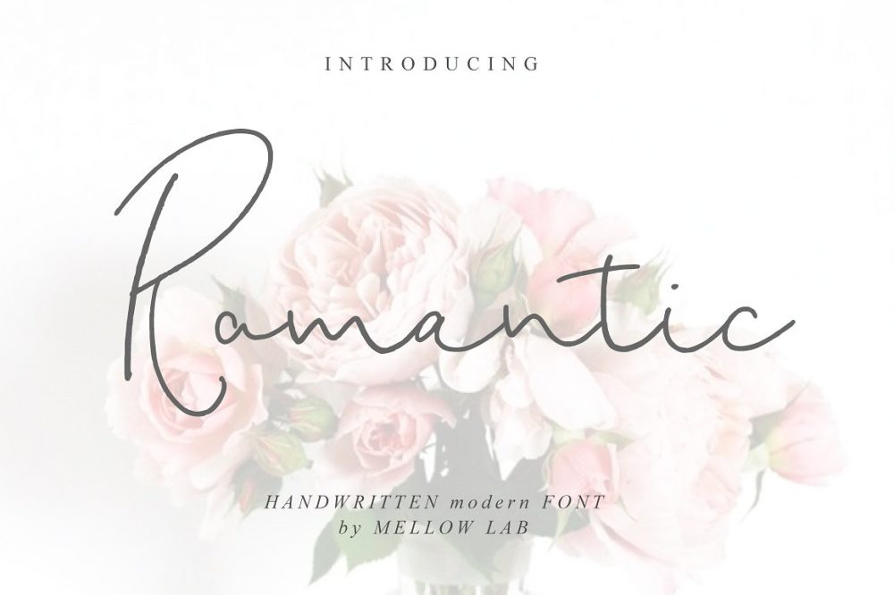 Sixty Eight Ave - 100 Stylish Fonts - Romantic