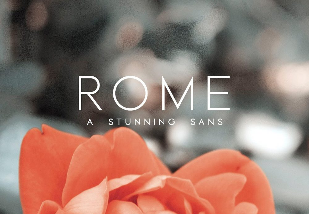 Sixty Eight Ave - 100 Stylish Fonts - Rome