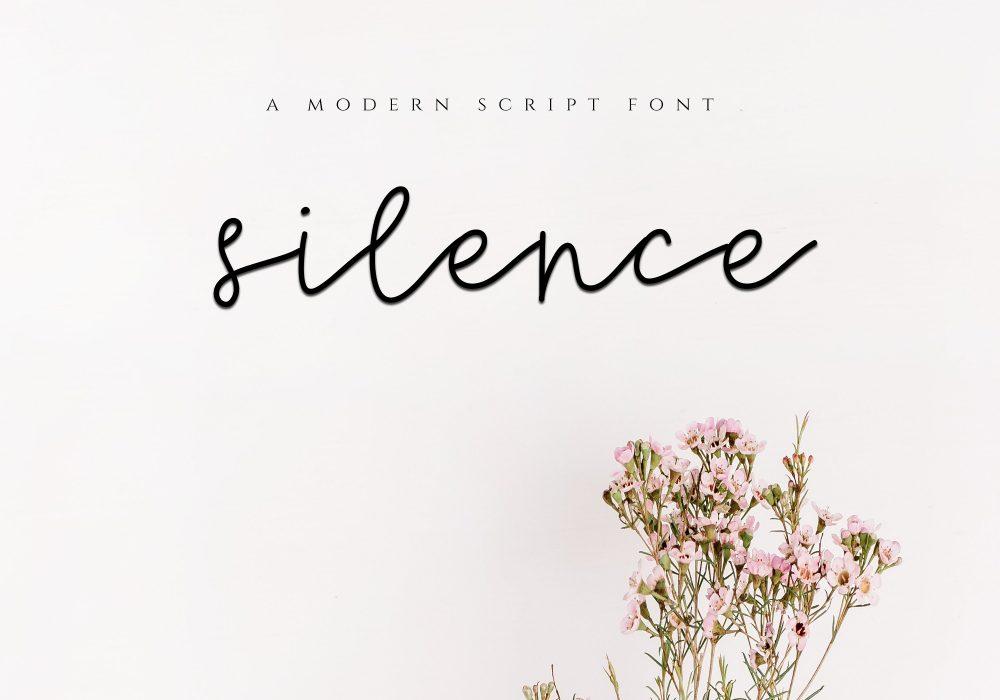 Sixty Eight Ave - 100 Stylish Fonts - Silence