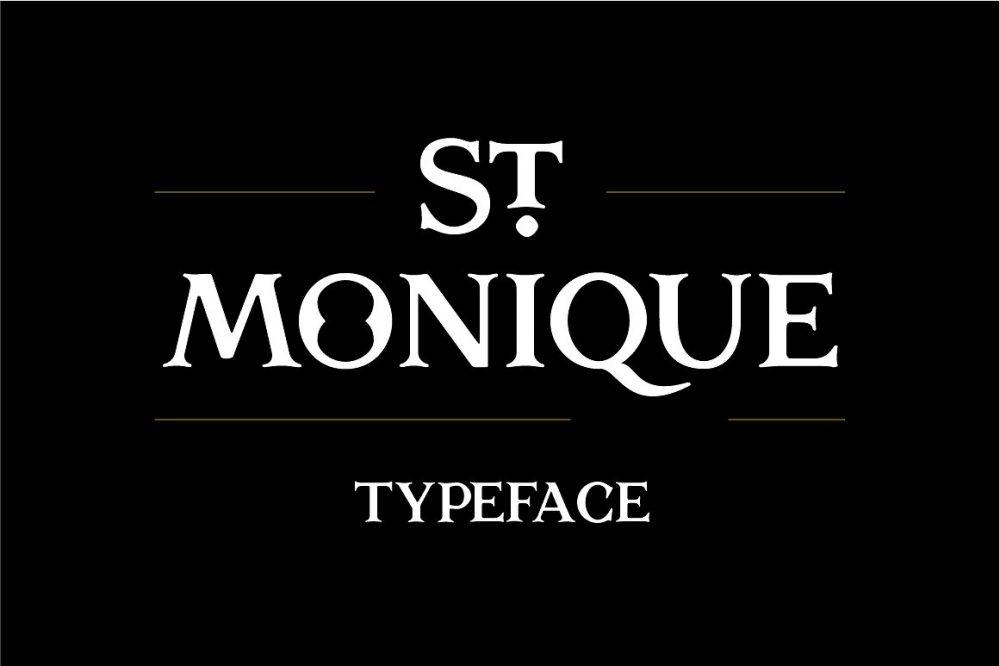 Sixty Eight Ave - 100 Stylish Fonts - St Monique