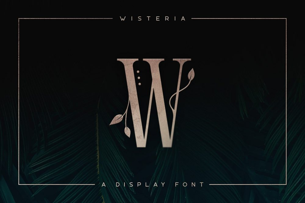 Sixty Eight Ave - 100 Stylish Fonts - Wisteria