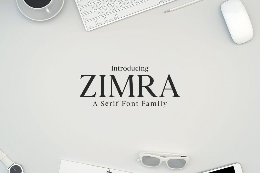 Sixty Eight Ave - 100 Stylish Fonts - Zimra