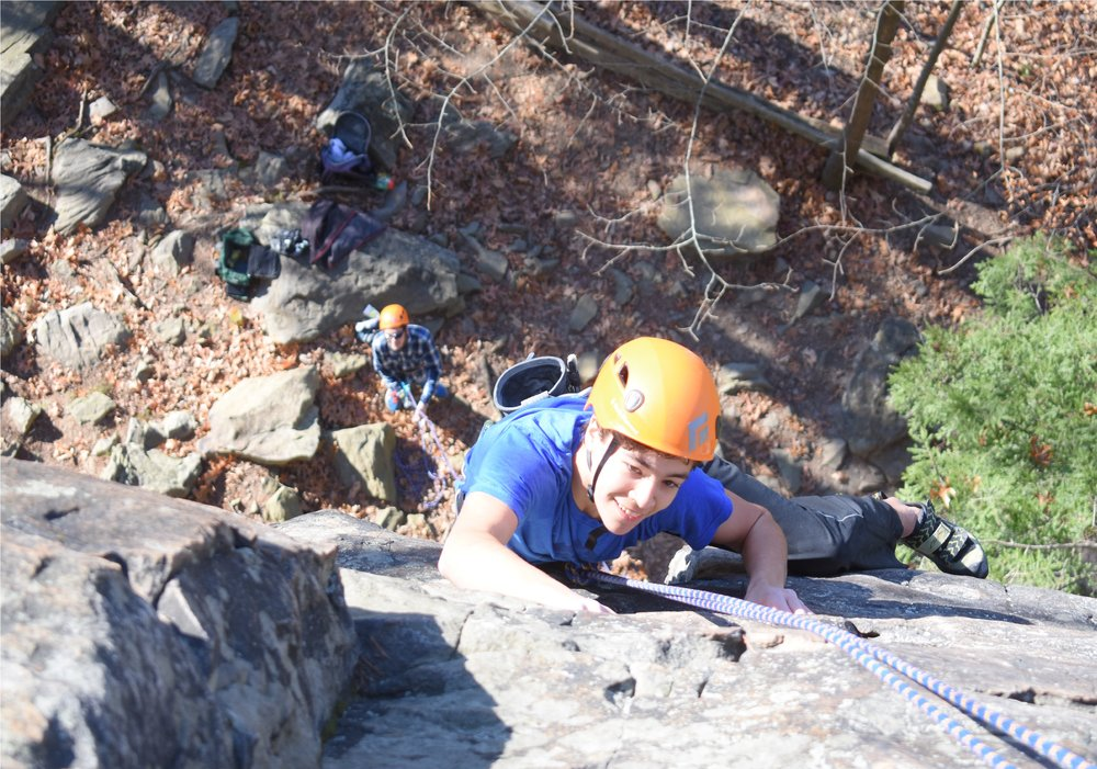 ROCK CLIMBING BUILDS COMMUNITY AND TRUST -