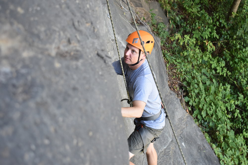 Intro to Outdoor Skills - $40/3-Hours— 10 min drivePrerequisites: Pass Rise Up TR TestClimbers in this class will not only get time on some rocks at the local crag; but will learn some important introductory skills in outdoor climbing, belaying, gear inspection, and rope management.