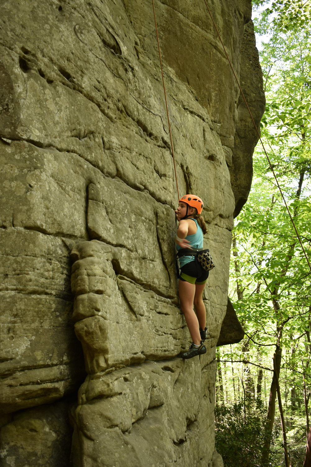 Full Day Guided - 3-hour drive timeWest Virginia! Wild and Wonderful! Come discover the iconic New River Gorge climbing area and climb one some of the best rock in the country! Whether you are looking to focus on your climbing, technical skills, or a little bit of both - this full day trip is for you!Pricing: $60/deposit required to secure spot (this will go toward final cost)Participants:1 = $160/member ; $180/non-member2 = $130/member ; $150/non-member3 = $115/member ; $130/non-member4 = $100/member ; $115/non-member5 = $80/member ; $100/non-member6 = $60/member ; $80/non-member6 or more? Call for special pricing.