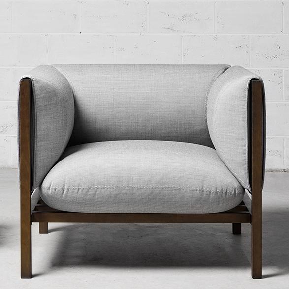 Loom armchair by Adam Goodrum