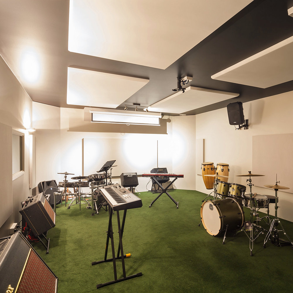 Recording Studios - Professional musicians and engineers rely on well designed acoustic environments to enable hearing the details.Read more or Ask us for advice