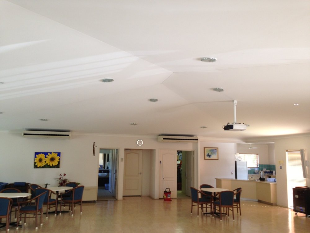 Retirement Villages and Aged Care Facilities - These spaces should have the best acoustics possible as excess noise can be disruptive and stressful. As well, many aged people have poor hearing.