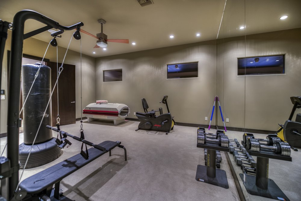 Our fully-equipped gym is another favorite pastime for our recovery residents.