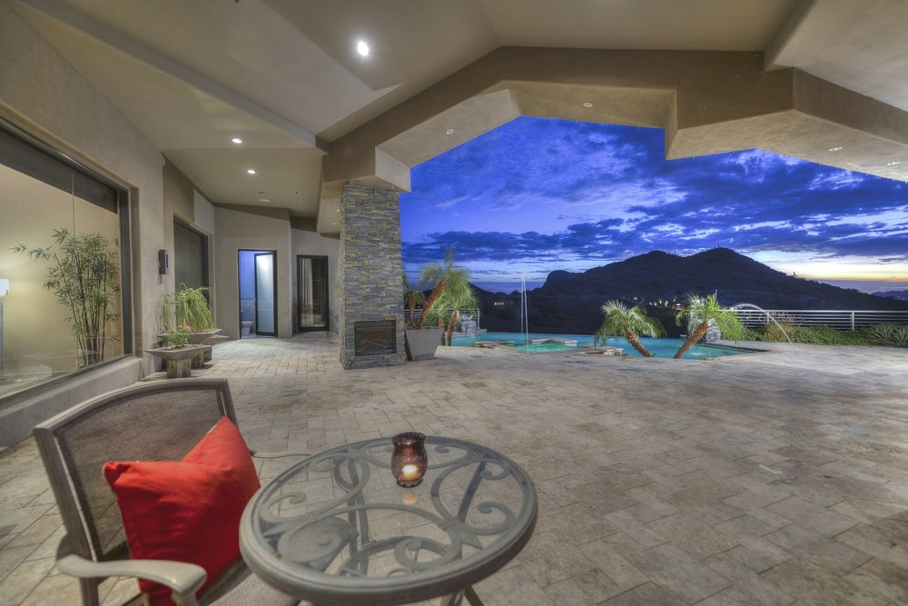 The Men's Residence offers incredible views from the entire property.
