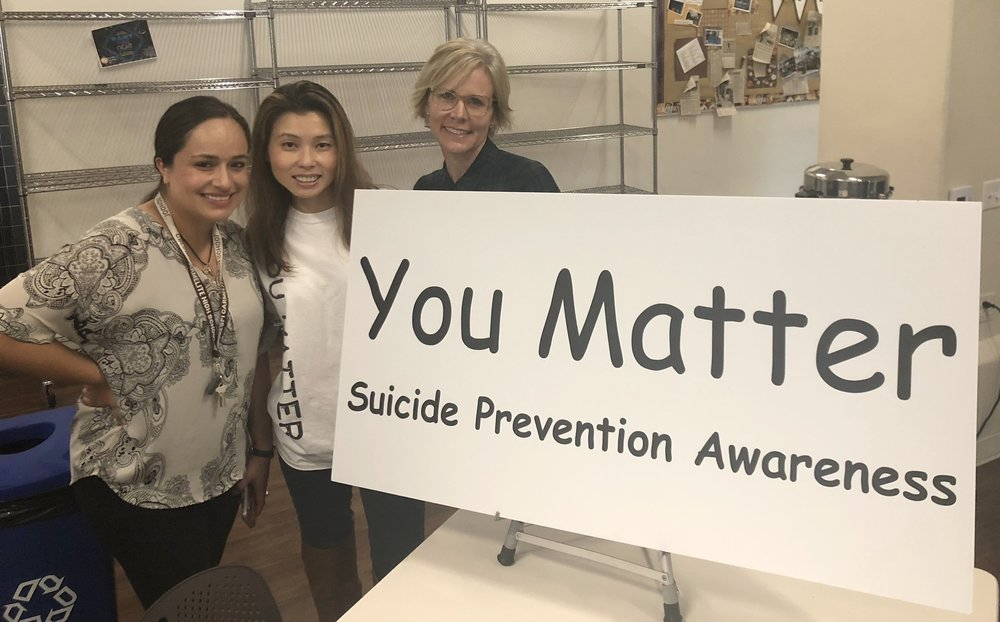 Crespi Carmelite Anti-Bullying Event 10/1/18 - We Spoke to Parents about Anti-Bullying methods to help teach them understand how they can help at home and school.