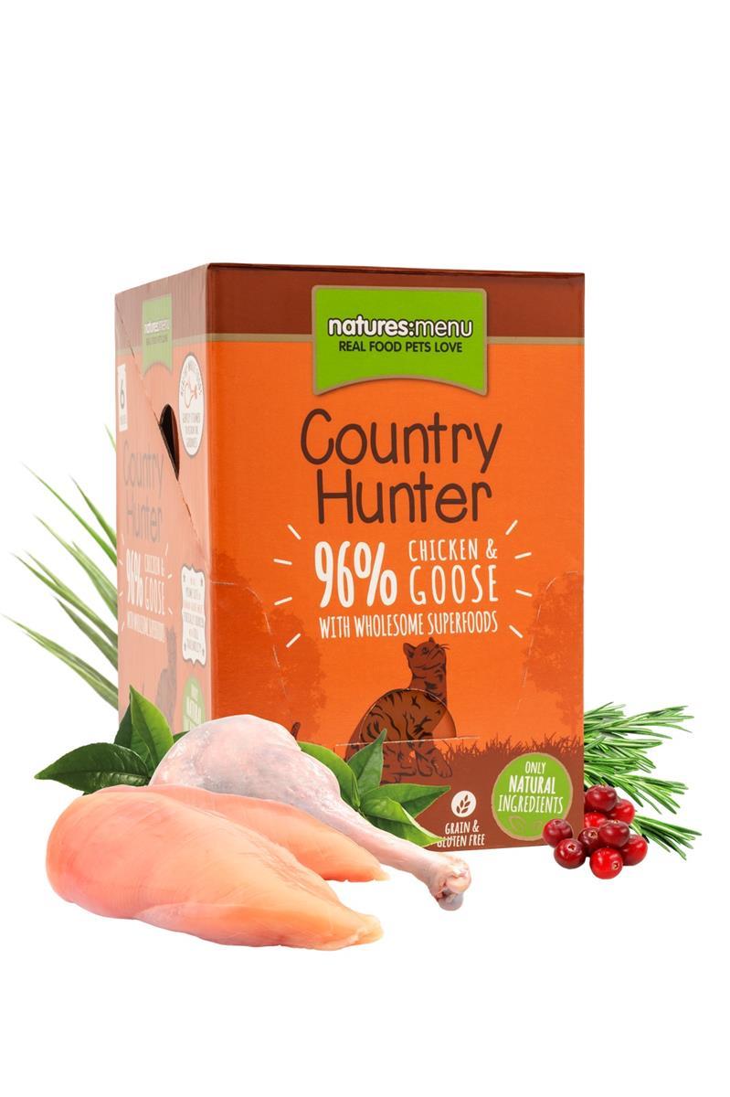 Natures menu, Våtfòr til katt - Kylling og gås 85g (6STK)Kylling og hjerte 85g (6STK)Kalkun og kanin 85g (6STK)