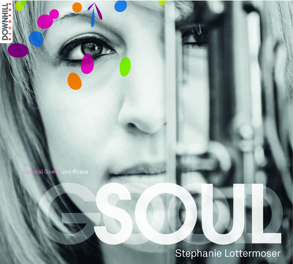 GOOD SOUL (Downhill Records 2013) - 01 Step Ahead - 02 Overjoyed - 03 Prince of Scotland (feat. Joo Kraus) - 04 Chet - 05 Between Three And Five - 06 Good Soul - 07 Natural Woman (feat. Joo Kraus) - 08 Here! - 09 If You Go AwayStephanie Lottermoser (ts, fl, voc, comp/arr), Sebastian Gampl (keys), Sebastian Gieck (b), Magnus Dauner (dr)recorded at Downhill Studios Munich