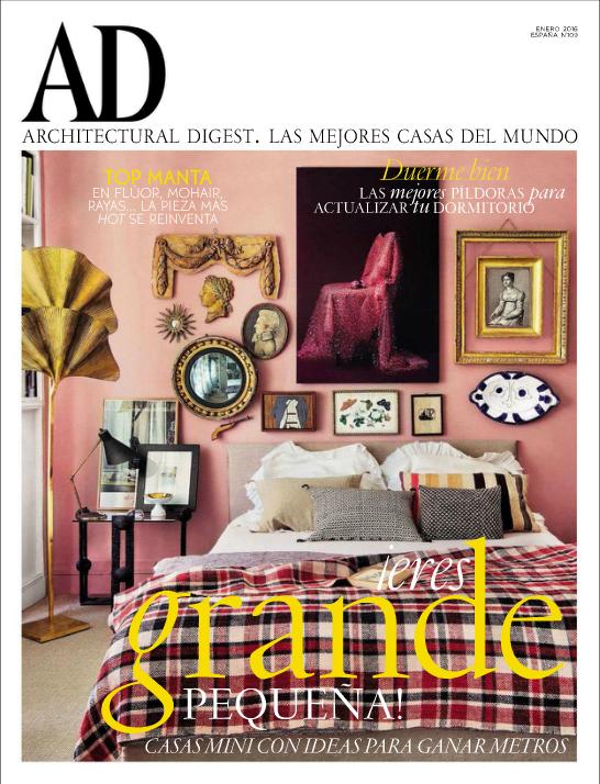 AD MAGAZINE SPAIN JANUARY  2016