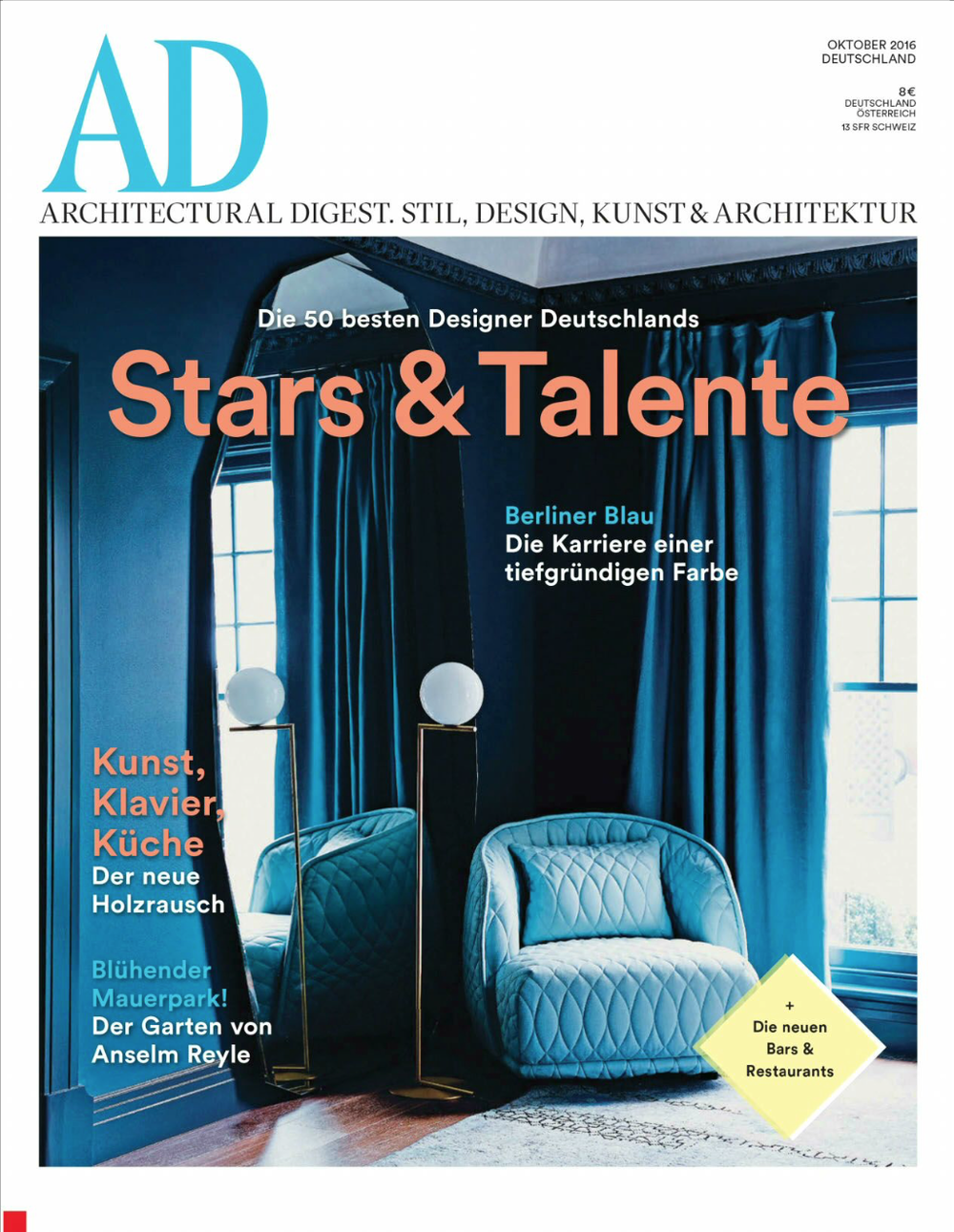 AD OCTOBER ISSUE 2016