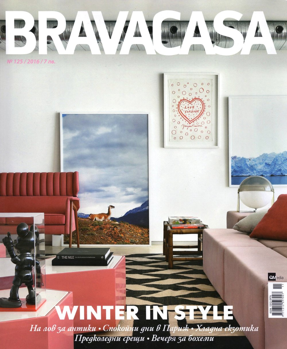 INTERVIEW ABOUT MY WORK AND STUDIO IN BRAVACASA