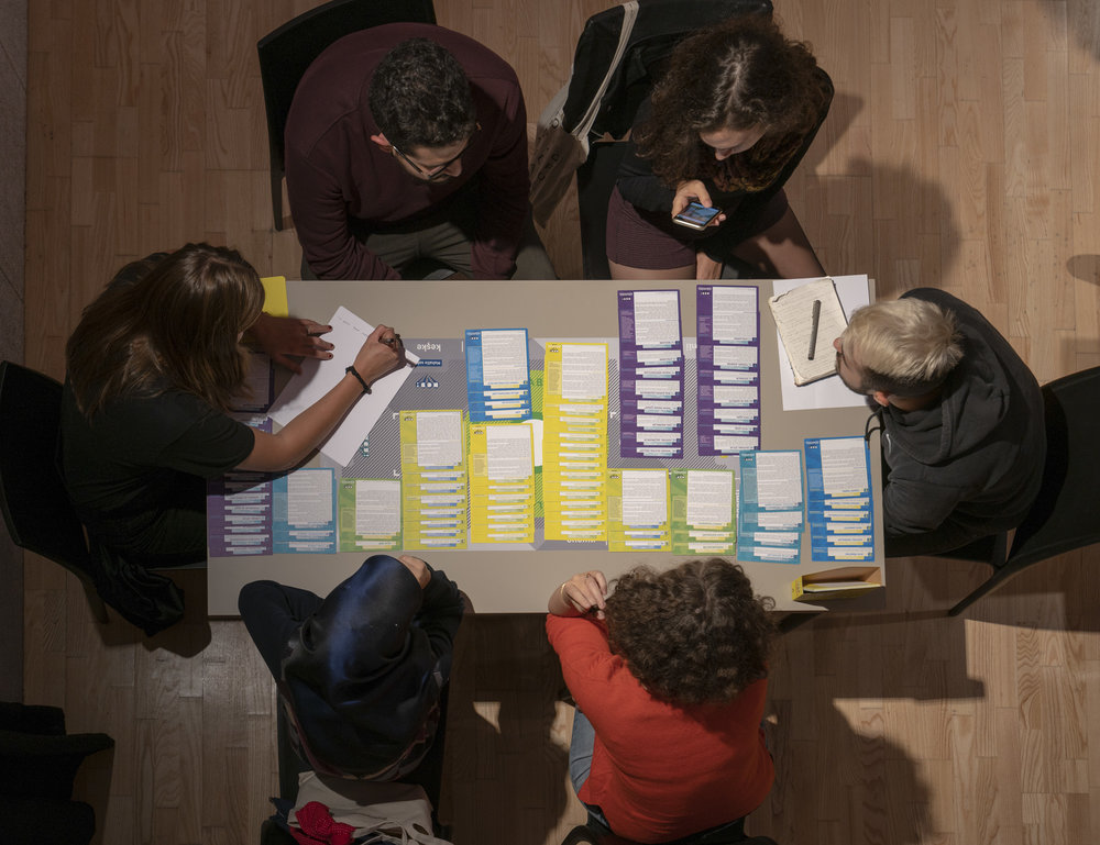 Allow the topic cards to guide you! - Propose a schematic urban design solution.Reach-out to actors needed for change.Identify the resources and expertise needed to move forward.