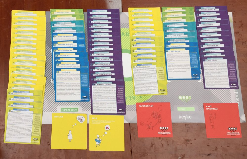 Cards placed as shown at the end of a game.