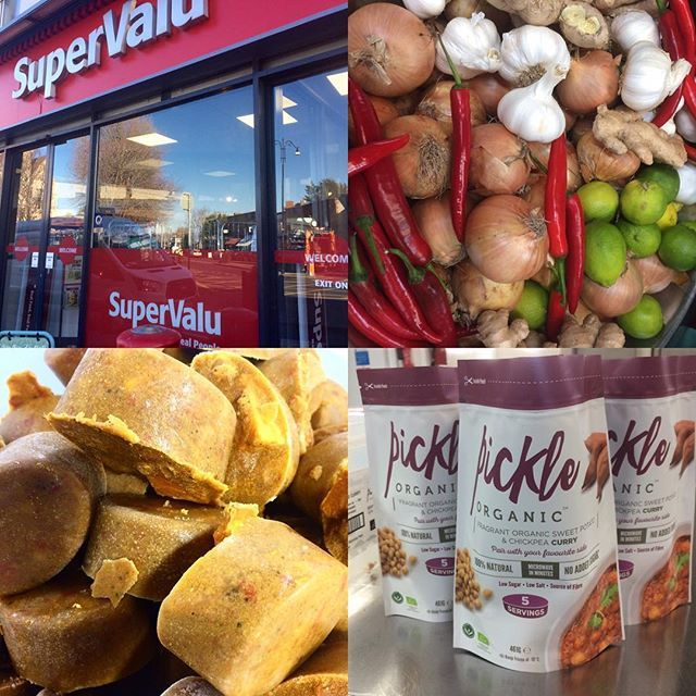 We will be sampling our range of healthy and time saving organic meals in @supervalu_rathgar tomorrow from 5-8pm. Drop in for a taste if you are in the area! #foodacademy #certifiedorganic #healthyfood