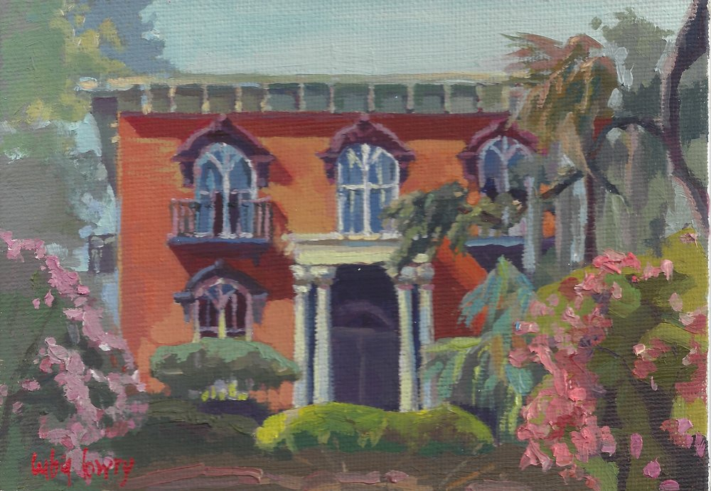 The Williams-Mercer House by Luba Lowry, 5x7