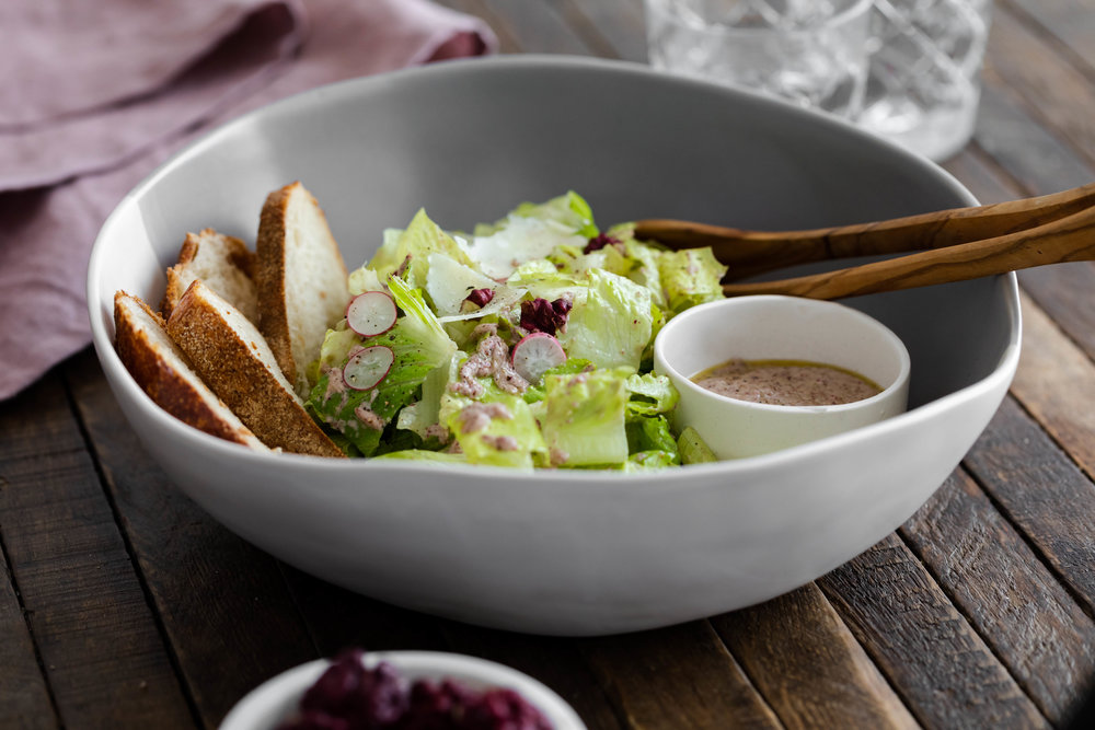 Dressing that makes your side salad the center of the plate…