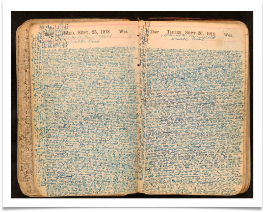 Diary of Irving Greenwald, Library of Congress