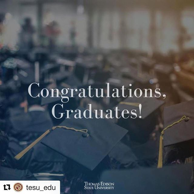 #Repost @tesu_edu ・・・ Today, the Thomas Edison State University Board of Trustees approved the awarding of degrees to 748 September graduates. Congratulations to our newest alumni! #TESU