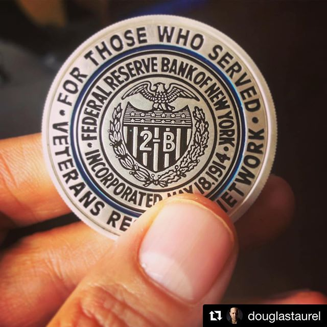 #Repost @douglastaurel with @get_repost ・・・ Felt honored to be given this medal at a very special lunch in, from a group of #veterans I will be performing for. Not aloud to say where but it will be a very special place. #grateful