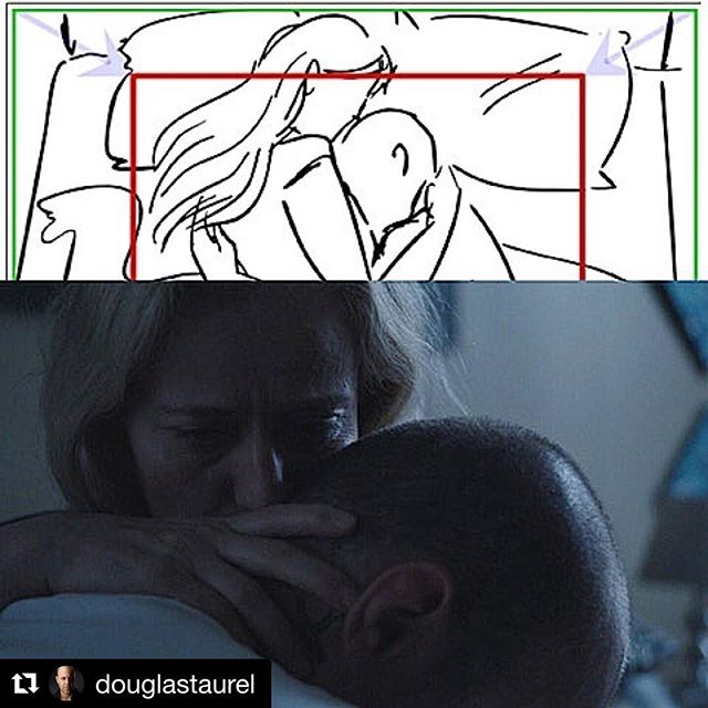 #Repost @douglastaurel with @get_repost ・・・ Storyboard of an emotional scene in Landing Home. Beautiful work by my lead actress. Below is the a still from the scene. #grateful