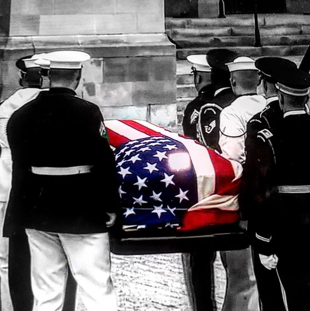 Rest In Peace #JohnMcCain #TrueAmericanHero #TheAmericanSoldier Thank you for your service to our country!