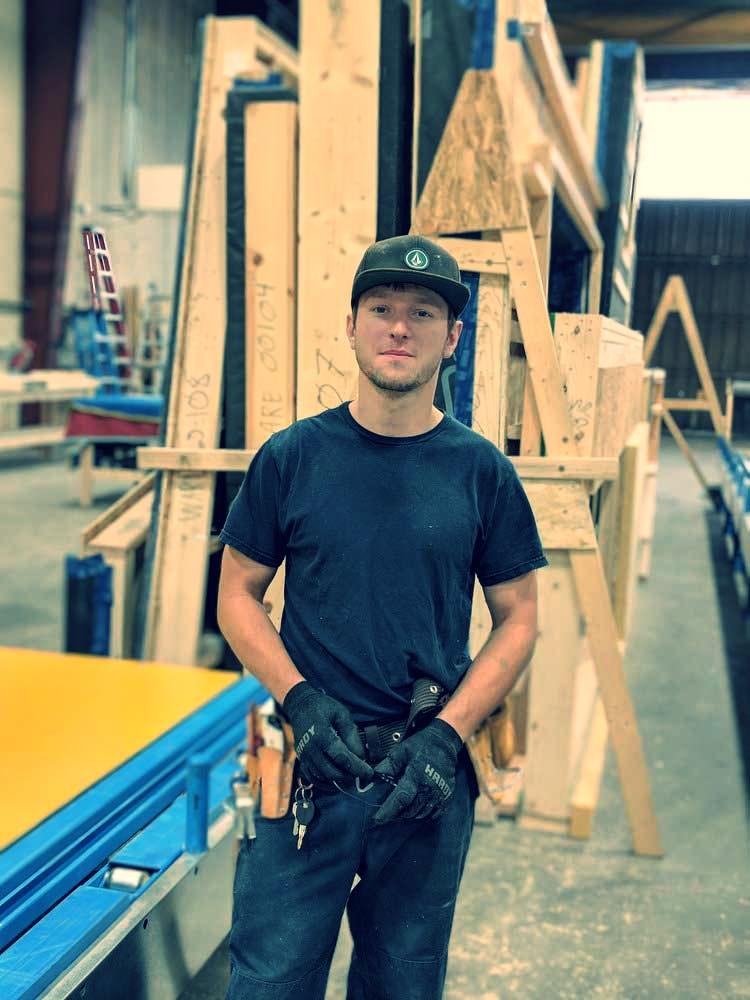 Andrey Kravits - Shop Technician & Assembly Crew Member