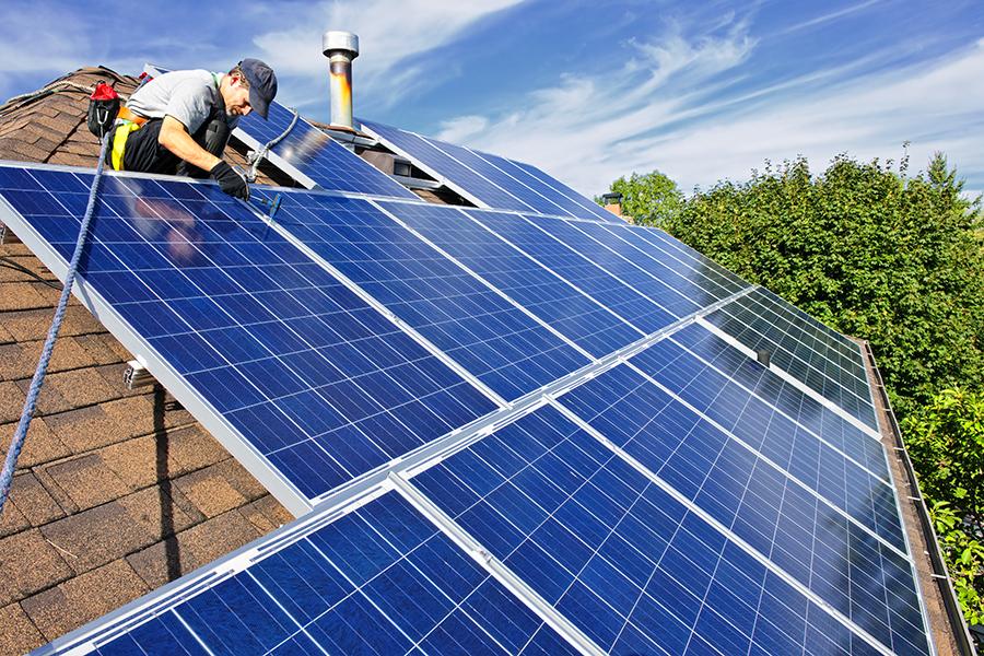 PV Array + Renewable Energy Integrations - Health