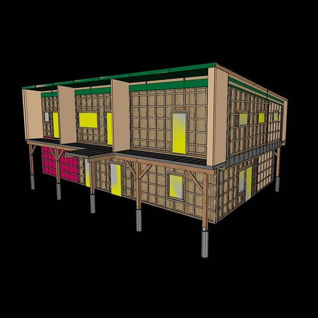 Our HOMESTEAD is approved!! [Seen here in 3D cadwork] Plan review complete!