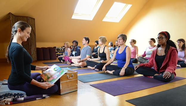 Photo provided by Anna Ferguson at World Peace Yoga