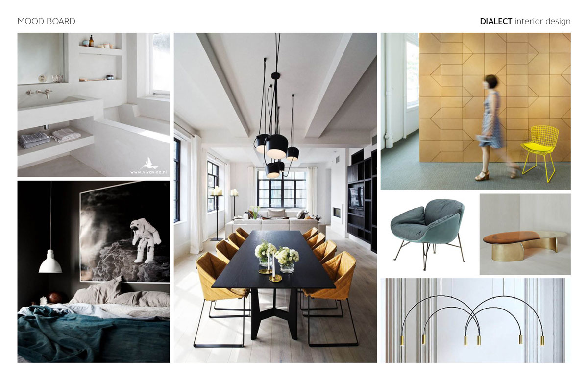 What Is A Mood Board Dialect Interior Design Modern