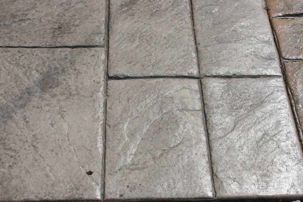 Large Ashlar - Slate with Nutmeg Release