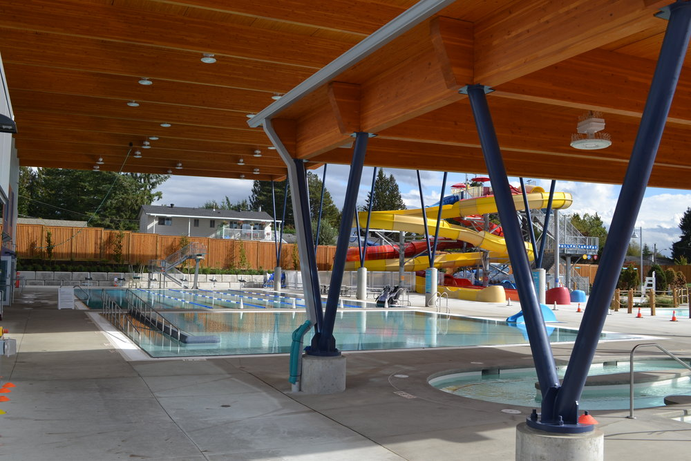Ultimate Workout - Whether you want to get in a workout after dinner, a swim with the family or just some relax-time in the hot tub, the new Aldergrove Community Centre has you covered.