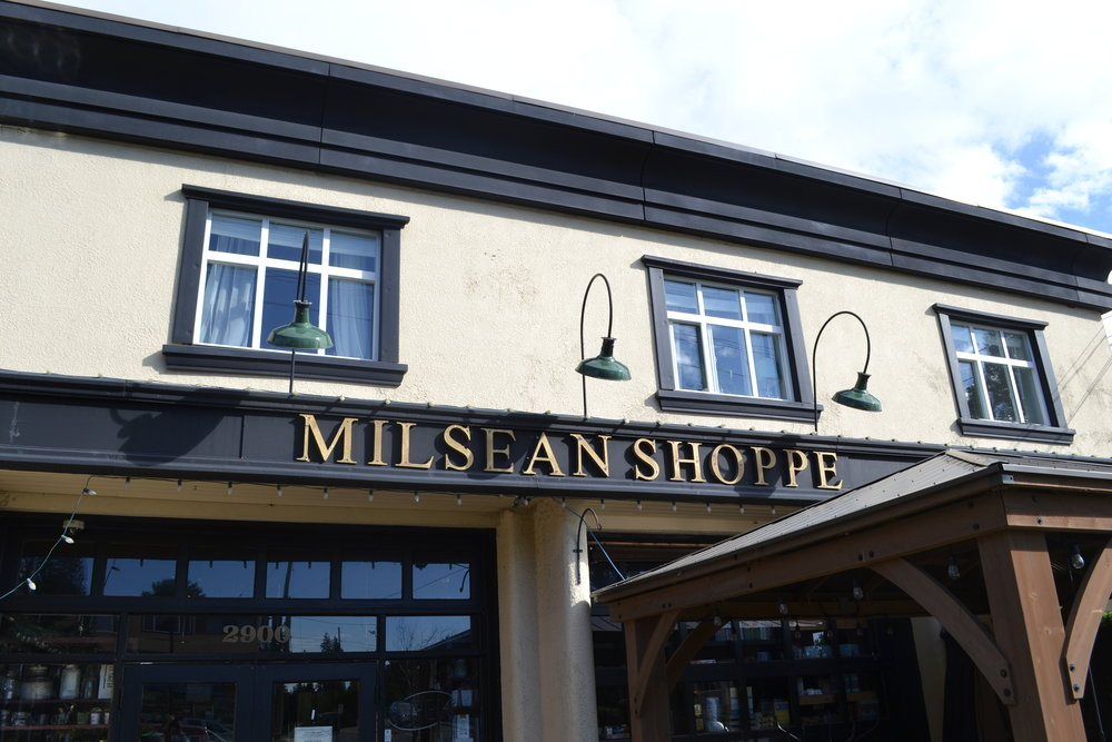 Coffee Shop Heaven - You may stop in at the Milsean for their coffee and fresh baked goods, but you'll stay longer than you anticipated to peruse all the amazing gifts and wares they offer!