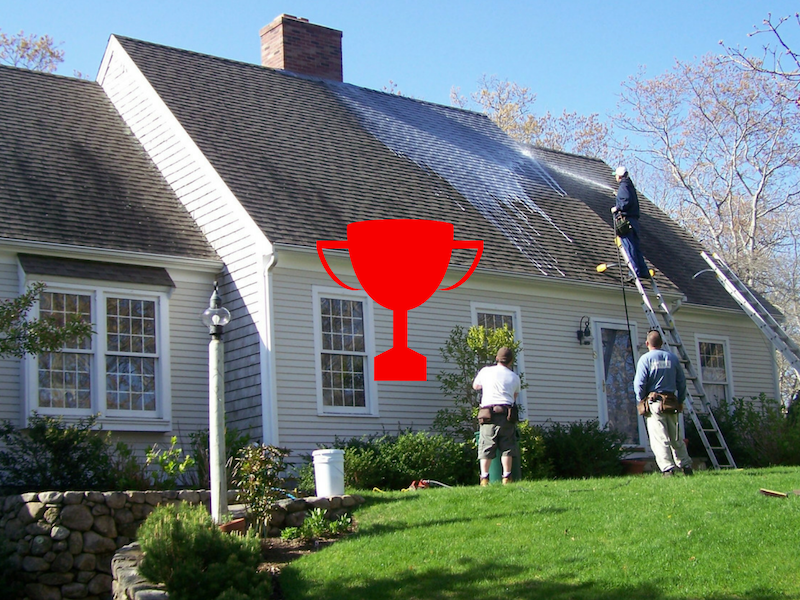 Satisfaction Guaranteed - We aim to be Cape Cod's best premier provider of roof cleaning, deck cleaning, house washing, cedar restoration and fleet washing. Exceeding expectations while improving property values is our mission.