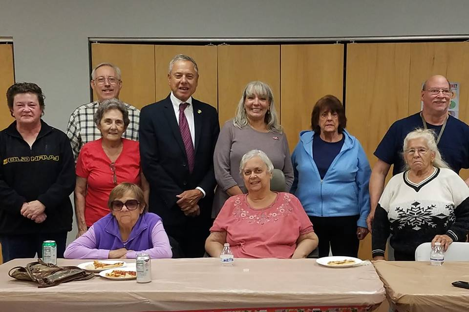 I am delighted each time I have a chance to sit down with the residents of Cottell Heights in Fall River and have a pizza party
